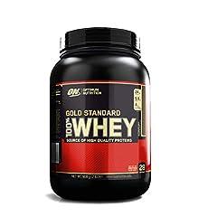Idea Regalo - Optimum Nutrition 100% Whey Gold Standard, Proteine in Polvere per lo Sviluppo Muscolare con Glutammina e Aminoacidi, Cioccolato al Latte, 0.9 kg, 28 Porzioni
