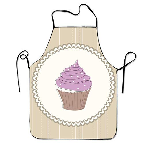 d Sign Apron for Baking Crafting Gardening Cooking Durable Easy Cleaning Creative Bib for Man and Woman Standar Size ()