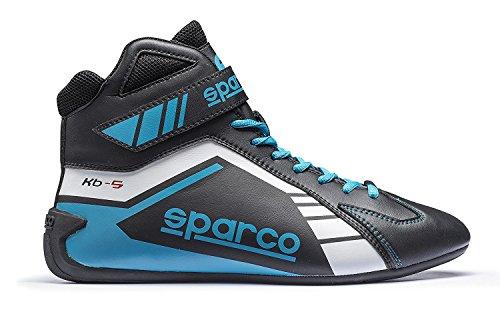 Speed-racing-schuh (Sparco Kartschuh Scorpion KB-5 blau/schwarz - Top Racing Schuh (36))