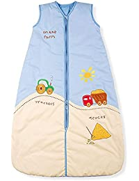 Mr. Sandman tractores y camiones/saco de dormir para bebé, verano peso, 1,0tog, tamaño 4: 3–6años