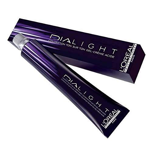 Loreal Professionnel Coloration Gel Crème Dialight 7.23 Blond Irisé Doré 50 ml