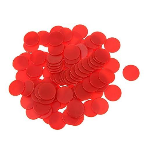 Gazechimp-200-Stk-Undurchsichtige-Bingo-Chips-Marker-fr-Bingo-Spiel-Karten