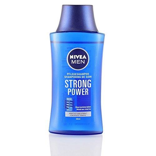 5Pack Nivea Strong Power Reise-Shampoo for men 5x 50ml