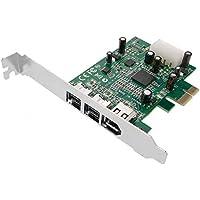 Cablematic - Tarjeta PCI-Express FireWire 800 IEEE 1394b (2B+1A)