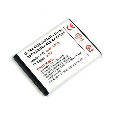 Akku, Ersatzakku für Samsung SGH-E570 / SGH-J700 / SGH-J700I mit Hohe Kapazität und ohne Memory-Effekt Li-Ion PDA-Punkt