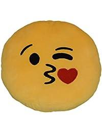 S&LU tolle Emoji-Kissen Emoticon-Kissen in vielen verschiedenen Designs ca. 30cm Durchmesser