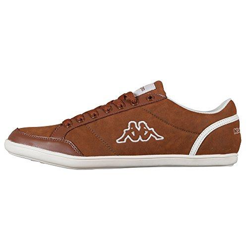 kappa-kent-low-241642-zapatillas-para-hombre-marron-marrone-braun-cognac-white-5410-45