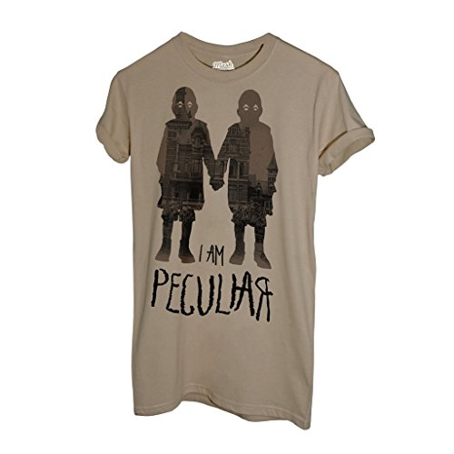 T-Shirt IO SONO SPECIALE MISS PEREGRINE TIM BURTON - FILM by Mush Dress Your Style Sand
