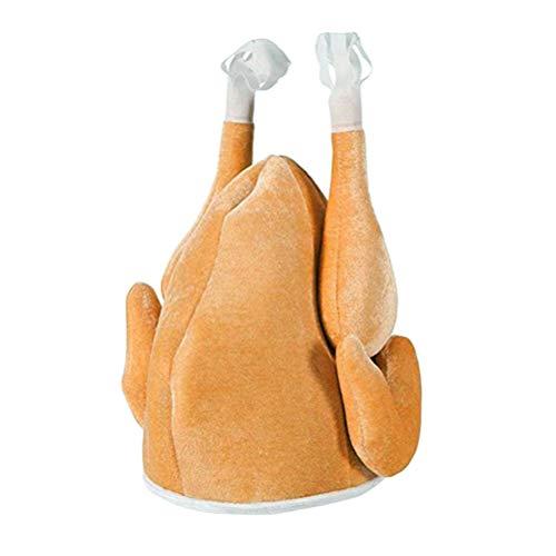 Frcolor Truthahn Hut Thanksgiving Weihnachten Kostüm Hut Truthahn Mütze für Kinder und ()