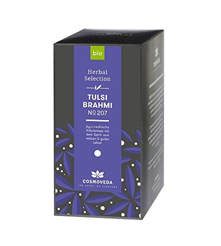 BIO Tulsi Brahmi Tee 20 x 1,8g von Cosmoveda - Tulsi Tee