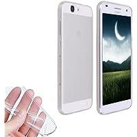 Donkeyphone UT0126 - Funda gel para Huawei Ascend G7 (silicona ultra fina) transparente