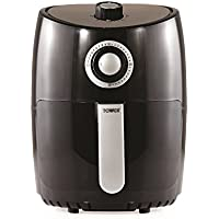Tower T17023 Air Fryer with 30 Minute Timer, 1000 W, 2.2 Litre Capacity, Black