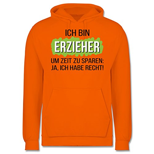 Sonstige Berufe - Erzieher - Männer Premium Kapuzenpullover / Hoodie Orange