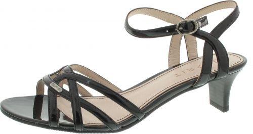 Esprit Birkin Sandal Größe 38 Schwarz (Schwarz)