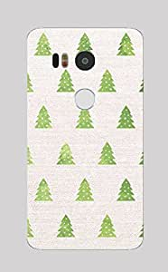 Back Cover for Nexus 5X Christmas Tree