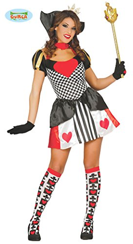 Erwachsene Kostüm König Für Der Herzen - sexy Königin der Herzen Kostüm für Damen Gr. M u. L, Größe:L