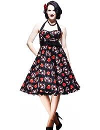 Hell Bunny Kleid FORTUNA DRESS 4128 black