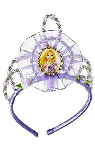 Princesas Disney - Tiara de Rapunzel, diadema para niña, accesorio disfraz (Rubie