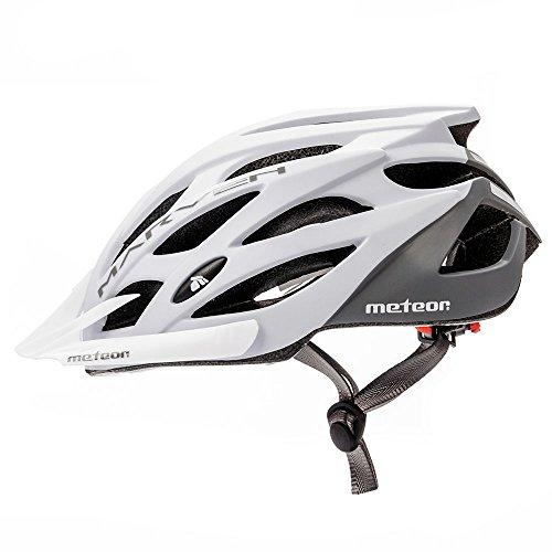 meteor Fahrradhelm MARVEN: Erwachsene Unisex & Jugendhelme Rad helm für Radfahrer Radsport; für Hoverboard, Inline-Skate, BMX Fahrrad, Scooter. Entwickelt für die...