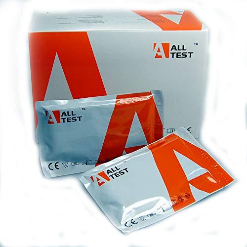 Drogentest-Kit für Zuhause - 2 Oberflächentests zur Bestimmung von 9 verschiedenen Drogenarten