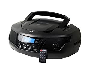 H&B DX-915i Lecteur CD/mp3 Radio AM/FM USB/Cartes SD 20W Noir