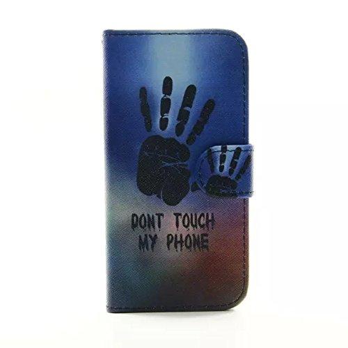 """Sunroyal iPhone 6/6S 4.7""""Hülle im Bookstyle, PU Leder Flip Wallet Case Schutzhülle für Apple iPhone 6/6S 4.7"""" Tasche Handytasche mit Magnetverschluss Kartenfach Standfunktion Muster Handyhülle + 1 x S Pattern 08"""