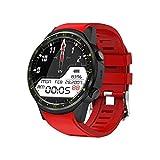 C-Xka Intelligente Uhr mit GPS-Doppelpositionierung, Multi-Funktions-Outdoor-Sportuhr-Armband mit Herzfrequenzüberwachung Höhen-Temperatur-Geschwindigkeitsüberwachung für Android IOS-Telefon