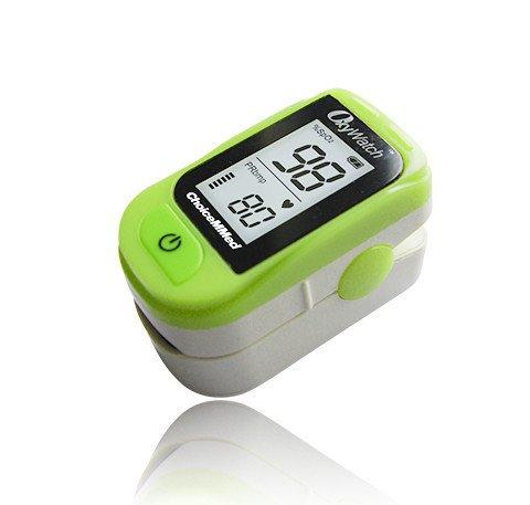 Fingerpulsoximeter Pulsoximeter Oxigeno MD300 C15D OxyWatch inkl. Zubehör (Schutztasche, Batterien, Trageband)