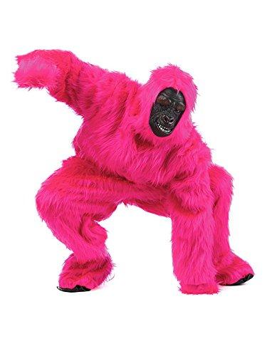 Gorilla Deluxe Kostüm pink L