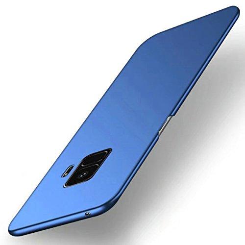 Funda Samsung Galaxy S9 Plus, TIANQIN Ultra-Delgado Carcasa Protectora Ultra Ligera PC Plástico Duro Case Anti-Rasguños Parachoque Estilo Simple para Samsung Galaxy S9 Plus Estuche - Azul