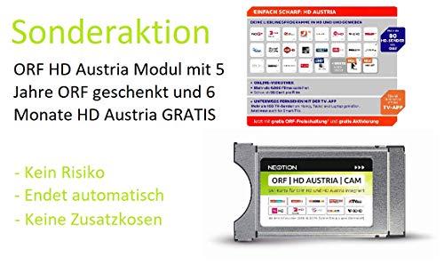 ORF HD Austria CAM mit 5 Jahre ORF GESCHENKT und 6 Monate HD Austria GRATIS