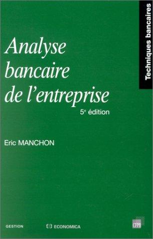 Analyse bancaire de l'entreprise