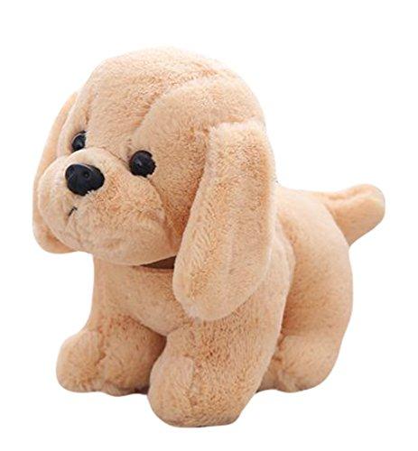 Good Night Belle peluche de chien de Labrador d'animal de bande dessinée petit jouet, jouet décoratif pour la chambre à coucher