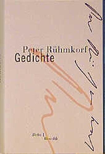 Gedichte (Rühmkorf: Werke, Band 1)