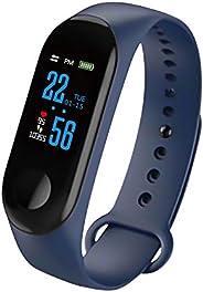 Whuooad Activity Tracker con cardiofrequenzimetro, impermeabile, IP67, con contapassi, contacalorie, contapass