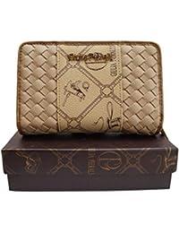 049133aae4e104 ☆LT LadiesTrends präsentiert Design Damen Geldbörse von Giulia Pieralli in  XL Format kurz Elegant Luxus Portmonee…