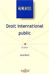 Droit international public. 16ème édition