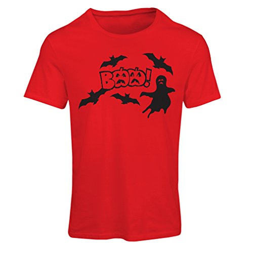 Frauen T-Shirt BAAA! - Funny Halloween Costume ideas, cool party outfits (X-Large Rot (Batman Genial Kostüme)