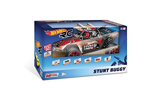 Mondo Hot Wheels Stunt Buggy R/C en Escala 1:18 (con batería)