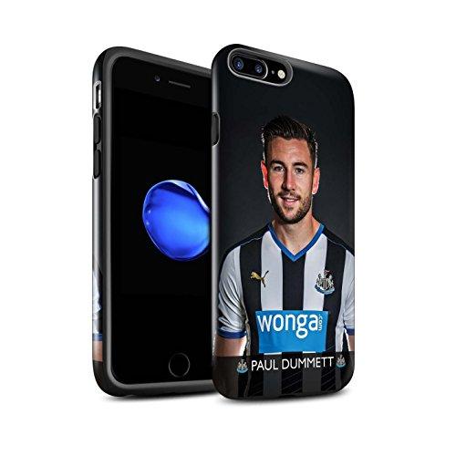 Offiziell Newcastle United FC Hülle / Glanz Harten Stoßfest Case für Apple iPhone 7 Plus / Rivière Muster / NUFC Fussballspieler 15/16 Kollektion Dummett