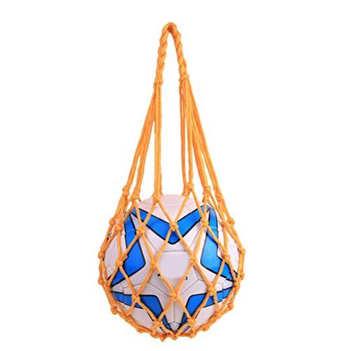LIOOBO Langlebige Basketball-Netz-Mesh-AufbewahrungSports Ball Holder Ball Bag Carrier NetBbag für Basketball Fußball Volleyball