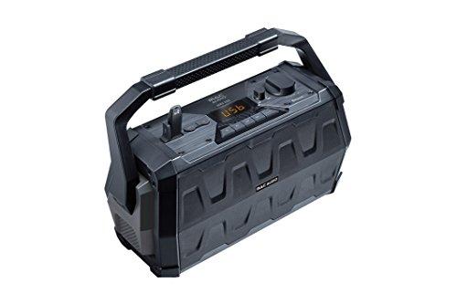 Mac Audio MRS 222 | Outdoor Kompaktanlage | USB, MP3, FM-Radio Boombox, Soundbox mit Bluetooth, MIC und AUX - Eingang | für Karaoke geeignet , 12h Akku