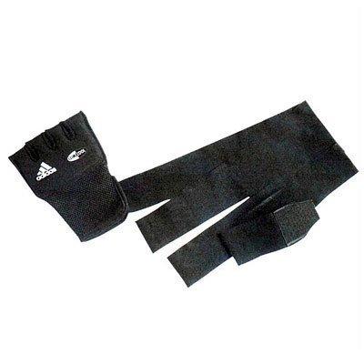 adidas Schnelle Wrap Punch Gel Nuckle, Damen Herren, Schwarz (Bandage Cotton Black)