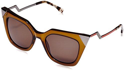 Fendi - occhiali da sole ff 0060/s nr occhi di gatto, donna, msw