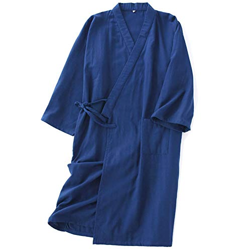 Fancy Pumpkin Robe Kimono Japonaise Lange Yukata Pyjama-Taille L-08 -