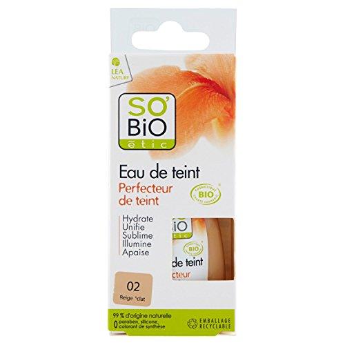 SO'BiO étic Eau de Teint Perfecteur de Teint 5 en 1 02 Beige Éclat 30 ml