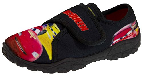 Zapatillas para andar por casa para niño de Disney, diseño de Rayo McQueen de Cars en 3D (talles 20a 26,5), color Azul, talla 23,5 EU Niño