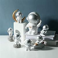 Oksea Dollhouse Astronaut Accessory Ornament Mini Nordic Resin Doll Model Decoration Toys Kids Gift