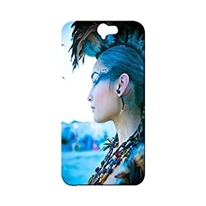 BLUEDIO Designer Printed Back case cover for HTC One A9 - G3838