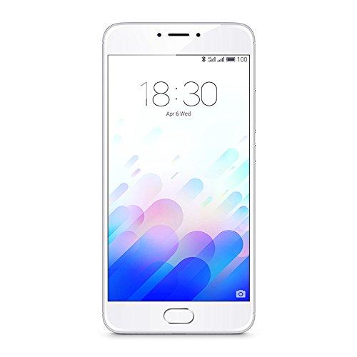Meizu M681H/32GB/SW M3 Note Smartphone da 32GB, Bianco/Argento [Italia]